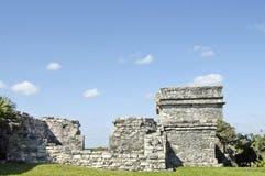 Sitio arqueológico de Tulum imágenes de archivo libres de regalías