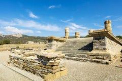 Sitio arqueológico de Baelo Claudia en España Foto de archivo
