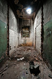 Sitio asustadizo y vacío foto de archivo