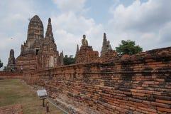 Sitio Bangkok del patrimonio mundial de Ayutthaya Imagenes de archivo