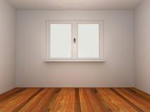 Sitio con la ventana ilustración del vector