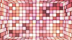 Sitio de alta tecnología 08 de los cubos de la difusión que centellea ilustración del vector