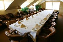 Sitio de banquete Foto de archivo