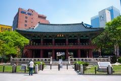 Sitio de Bosingak (campanario) Imagenes de archivo