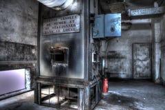 Sitio de caldera Foto de archivo