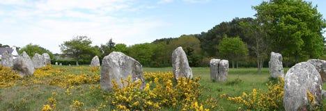Sitio de Carnac foto de archivo