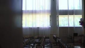 Sitio de clase de la escuela primaria - almacen de video