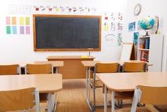 Sitio de clase vacío imagen de archivo