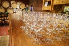 Degustación de vinos Imágenes de archivo libres de regalías