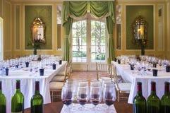 Sitio de degustación de vinos Imagen de archivo libre de regalías