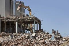 Sitio de demolición Foto de archivo