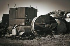 Sitio de demolición Imagen de archivo libre de regalías