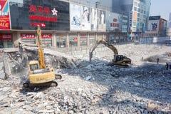 Sitio de demolición Imagen de archivo