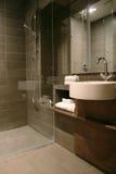 Sitio de ducha Imágenes de archivo libres de regalías