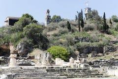 Sitio de Elefsina foto de archivo