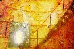 Sitio de Grunge fotografía de archivo libre de regalías