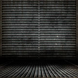 Sitio de Grunge del metal Imagen de archivo