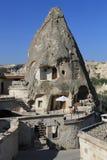 Sitio de hadas de la chimenea en el hotel de la cueva, Cappadocia Fotografía de archivo