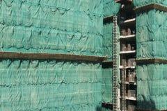 Sitio de Hong Kong Style Construction Foto de archivo