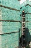 Sitio de Hong Kong Style Construction Imagen de archivo