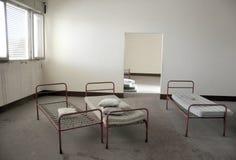 Sitio de hospital abandonado en Italia Foto de archivo libre de regalías