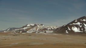Sitio de la astronomía de ALMA en San Pedro de Atacama, región de Antofagasta/Chile metrajes