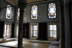 Sitio de la audiencia del sultán Foto de archivo libre de regalías