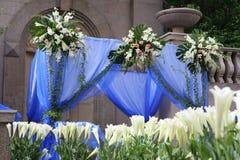 Sitio de la boda Fotos de archivo libres de regalías