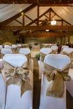 Sitio de la boda Foto de archivo libre de regalías