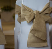 Sitio de la boda Imagen de archivo