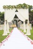 Sitio de la boda Imagen de archivo libre de regalías