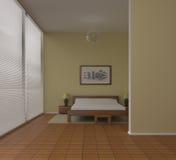 Sitio de la cama Foto de archivo libre de regalías