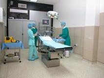 Sitio de la cirugía Imagenes de archivo