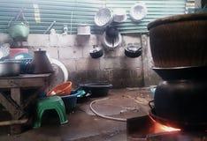Sitio de la cocina Imagenes de archivo