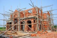 Sitio de la construcción de edificios Fotografía de archivo libre de regalías