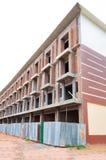 Sitio de la construcción de edificios Fotografía de archivo