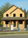 Sitio de la construcción de la nueva casa imagenes de archivo