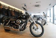 Sitio de la demostración de Harley Davidson foto de archivo libre de regalías