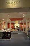 Sitio de la demostración de la porcelana de Meissen Foto de archivo libre de regalías
