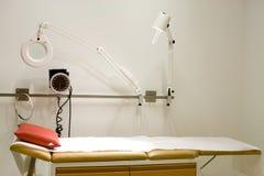 Sitio de la examinación del doctor Fotos de archivo