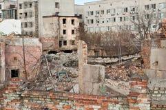 Sitio de la explosión Fotos de archivo libres de regalías