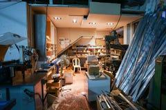 Sitio de la fábrica de Furnirure Fotos de archivo libres de regalías