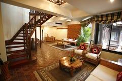 Sitio de la habitación en hotel Imagen de archivo