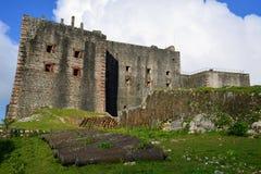 Sitio de la UNESCO del fuerte de Haití foto de archivo
