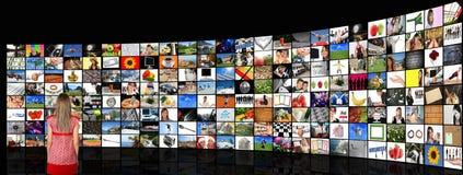Sitio de los media fotografía de archivo libre de regalías
