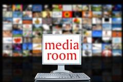 Sitio de los media Foto de archivo
