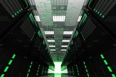 Sitio de los servidores Fotos de archivo libres de regalías