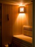 Sitio de lujo de la sauna Fotografía de archivo
