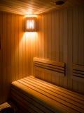 Sitio de lujo de la sauna Foto de archivo libre de regalías