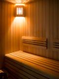 Sitio de lujo de la sauna Fotos de archivo